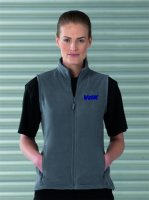 872F Fleece Weste Damen mit Stick VdK